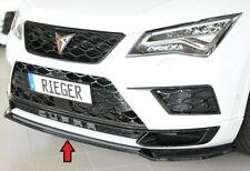 Rieger Spoilerlippe für Seat Ateca Cupra 5F Frontspoiler Lippe schwarzglanz