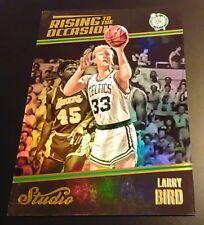 2016-17 Panini Studio Rising to the Occasion #RO-LB Larry Bird~Boston Celtics!