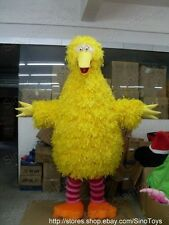 Christmas Big Bird Sesame Street Mascot Costume Fancy Dress Adult SIZE Outfit UK