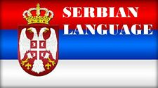 Learn  SERBIAN  - 100 Lessons Audio Book MP3 CD - iPod Friendly