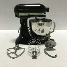 KitchenAid RRK150CV 5 Qt Artisan Series Tilt Stand Kitchen 10 Speed Mixer Caviar