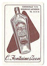 1 oude jenever gin joker speelkaarten playing cards jeu de cartes alcohol