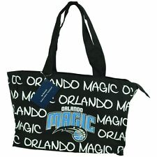 NBA Robin Ruth Orlando Magic Medium Tote Hand Bag Glitter Women Ladies Purse Blk