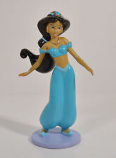 "3.5"" Princess Jasmine on Stand PVC Plastic Figure Toy Disney Aladdin Cake Topper"