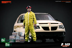 1:18 Walter White (Heisenberg) figurine VERY RARE!!! NO CARS!! from Breaking Bad