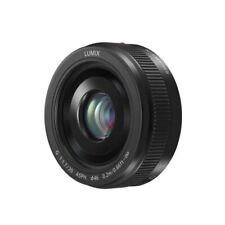 Panasonic Lens Lumix G 20mm f/1.7 II ASPH. Lens - Black - Original Authentic UK