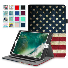 For iPad 2 iPad 3 iPad 4 & iPad 5th Gen 9.7 2017 Folio Leather Case Stand Cover