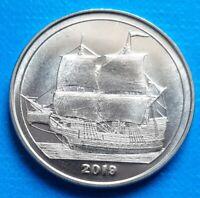 Bougainville Island 1 Dollar 2017 UNC Flag unusual coinage Belize