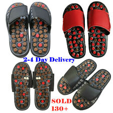 Women Men Tai Chi Foot Massage Slippers Acupuncture Therapy Massager Shoes