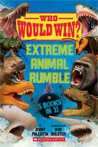 Who Would Win?: Extreme Animal Rumble (Hardback or Cased Book)