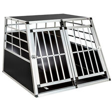 Hundebox Transportbox Alubox Box Hundetransportbox mit Trennwand !!!