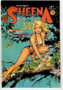 SHEENA QUEEN OF THE JUNGLE 3-D #1 1985 WITH GLASSES!