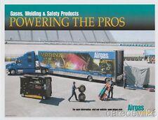 2005 Airgas Tractor Trailer Hauler Dover NASCAR Nextel Cup thinstock handout