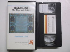 Testament - The Bible and History - Paradise Lost [VHS] VHS Tape