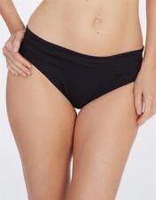 Lepel Lagoon Fold Over Bikini Pant/Brief Black 159779 Swimwear sizes 10-14