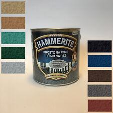 Hammerite Metallschutz-lack Rostschutz 2,5 l Hammerschlag Farbauswahl lack 2,5l