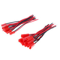 20pc 2 Pin Connector Male Female JST Plug Cable 22 AWG Wire For RC Battery BH