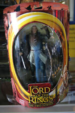 "Toy Biz Lord of The Rings The Two Towers ""Helm's Deep Legolas"" Figure NIB JSH"