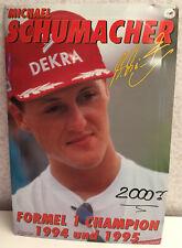 Michael Schumacher Collection Sportline Blechschild Formel 1 Champion 40x60 cm