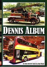 Book - Dennis Album - Trucks Buses Coaches Fire Engines Cars - Plaxton Duple
