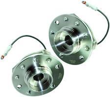 PAIR Wheel Bearing Hub 5 Stud (FRONT) FOR Opel / Vauxhall Astra H Mk5 & Zafira B