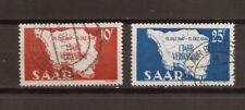 1948 Saarland Mi. 260-261 gestempelt mehrere Sätze und Einzelmarken zur Auswahl