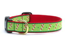 Dog Puppy - Made in USA - Up Country Candy Canes Dog Collar - XXL
