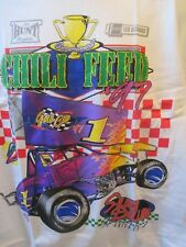 VTG NWOT SILVER DOLLAR SPEEDWAY CHICO,CA CHILLI FEED GOLD CUP RACING T SHIRT XL