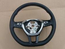 VW PASSAT GOLF 7 POLO KIEROWNICA 5G0419091DL Steering Wheel Lenkrad White Thread