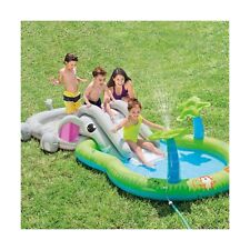 Elephant Pool Inflatable Outdoor Play Center Water Sprayer Wading Kids Age 2+