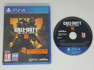Call of Duty BLACK OPS 4 IIII PS4 MINT Same Day Dispatch via Super Fast Delivery