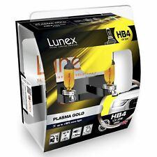 Lunex hb4 2800k Plasma Gold Auto Scheinwerfer Halogen Leuchtmittel 12v 55w p22dx2