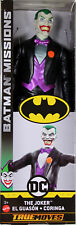 "Batman: Knight Missions ~ 12"" THE JOKER ACTION FIGURE (TRUE MOVES) 2018 ~ Mattel"