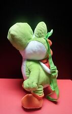 Nintendo Super Mario Bros Yoshi Kids Plush Backpack Toy Video Game Hidden