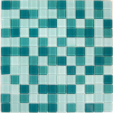 Crystal Glass Tile Green Mosaic for Bath shower $9/sqft