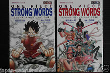 JAPAN One Piece Strong Words 1~2 Complete Set 2011