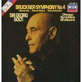 Bruckner Symphony No. 4 Romantic Decca Sir Georg Solti Chicago SO Low P&H