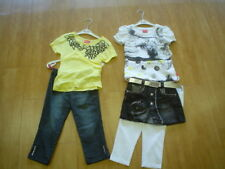 SO 11- Pampolina City falda camiseta, Blanco T. gr.122-140