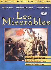 Les Miserables (DVD, 2004, Digital Gold Collection)