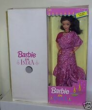 #4537 RARE NRFB Mattel LEO Barbie in India Foreign Issue Fashion Doll