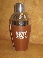 Skyy Vodka & Football Cocktail Shaker Metal Tin Barware Drink Mixer Bar Tool