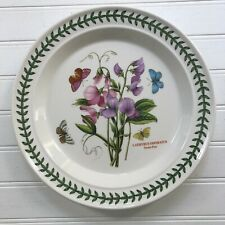 Portmeirion Botanic Garden Sweet Pea Dinner Plate Susan Williams-Ellis