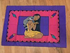 Vintage Disney Pocahontas Meeko Standard Size Pillowcase