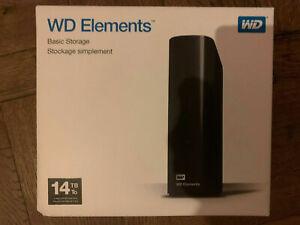 Western Digital Elements EMPTY ENCLOSURE ONLY new external Hard Drive Case (2)