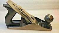 Stanley Bailey No. 4 Smooth Bottom Wood Plane USA Very Good Condition
