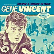 Gene Vincent  45 SP  Boppin & Shakin in Italy , LIMITED EDITION, LIVE RECORDINGS