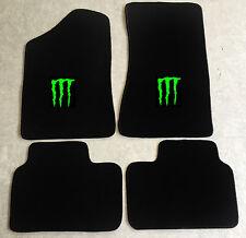 Autoteppich Fußmatten für Opel Manta B und CC  Monster neongrün Neuware 4teilig