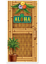 Hawaiian Hula Fiesta Aloha Decoración de Puerta