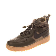 RRP €120 NIKE AIR FORCE 1 WTR GTX Leather Sneakers Size 42.5 UK 8 US 9 Sock Like