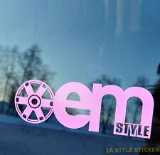 oem Style Aufkleber Felge VW LUPO GTI FELGE VW GTI OEM STYLE GTI